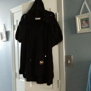 Michael Kors light-weight hooded sweater.